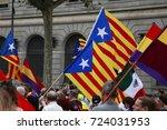 barcelona  spain   june 22 ... | Shutterstock . vector #724031953