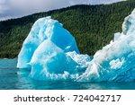 Massive Icebergs Float Along...