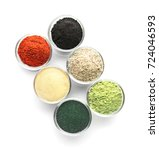 Different Colorful Superfood...