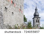 St. Lucia Church And Castle...