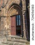 church  | Shutterstock . vector #724056583