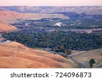 southeast boise  idaho | Shutterstock . vector #724096873