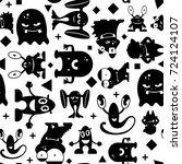 seamless black and white