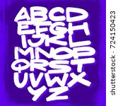 alphabet. vector background   Shutterstock .eps vector #724150423