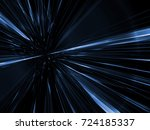 space warp speed line digital... | Shutterstock . vector #724185337