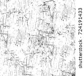 grunge black and white texture. ... | Shutterstock .eps vector #724191433