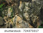 Texture Steep Surface Of The...