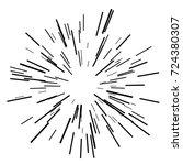 sun burst  star burst sunshine. ...   Shutterstock .eps vector #724380307