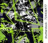 grunge geometric pattern for...   Shutterstock .eps vector #724436977
