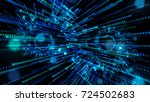technology digital background.... | Shutterstock . vector #724502683