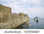 Small photo of battleship island(alias:hashijima island) in nagasaki,japan