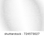 abstract halftone wave dotted... | Shutterstock .eps vector #724573027