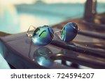 fashion sunglasses | Shutterstock . vector #724594207