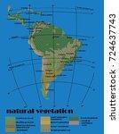 south america natural vegetation   Shutterstock .eps vector #724637743