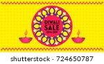 diwali  indian festival of... | Shutterstock .eps vector #724650787