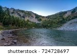 palisades lakes area  mount... | Shutterstock . vector #724728697