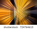 abstract motion blur effect on... | Shutterstock . vector #724764613