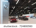 Small photo of Anaheim - USA - September 28, 2017: Acura Stand on display at the Orange County International Auto Show.