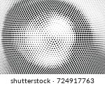 abstract halftone wave dotted... | Shutterstock .eps vector #724917763