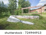 Small photo of The abandoned air-to-air missile