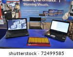 kolkata  february 20  laptops... | Shutterstock . vector #72499585