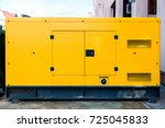 mobile diesel generator for... | Shutterstock . vector #725045833