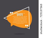 inspirational quote template | Shutterstock .eps vector #725137363