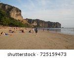 krabi thailand  20 august 2017. ... | Shutterstock . vector #725159473