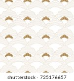 japanese pattern seamless... | Shutterstock .eps vector #725176657
