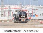 volgograd   september 16  truck ...   Shutterstock . vector #725225347