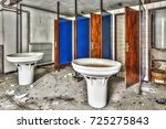 Old Washroom With Collective...
