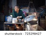 saigon  vietnam   june 2017 ... | Shutterstock . vector #725298427