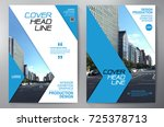 business brochure. flyer design.... | Shutterstock .eps vector #725378713