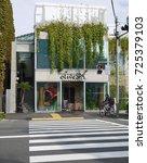 tokyo. japan. november 2016. ... | Shutterstock . vector #725379103