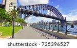 panorama of sydney harbour...   Shutterstock . vector #725396527