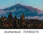 main bali temple pura besakih... | Shutterstock . vector #725402173