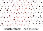 dark red vector geometric... | Shutterstock .eps vector #725410057