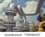offshore the industry oil and... | Shutterstock . vector #725446327