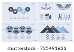 business data design template... | Shutterstock .eps vector #725491633