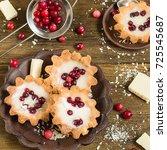Sweet Cranberry Dessert. A...