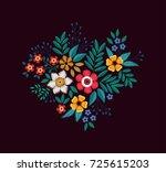 Vector Bouquet Of Flowers....