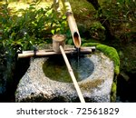 Traditional Bamboo Fountain In...