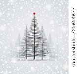 happy christmas greeting card | Shutterstock .eps vector #725654677