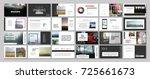 original presentation templates.... | Shutterstock .eps vector #725661673