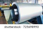 rolled steel. stack of rolls ...   Shutterstock . vector #725698993