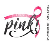 breast cancer awareness vector... | Shutterstock .eps vector #725753467