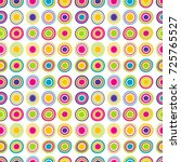 colorful seamless background...   Shutterstock .eps vector #725765527