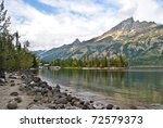 Alice Lake In Grand Tetons...