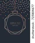 vector modern template... | Shutterstock .eps vector #725804677