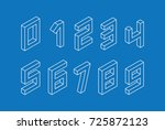 collection of the isometric...   Shutterstock .eps vector #725872123